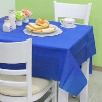 칼라 비닐 테이블보-블루(1매입)