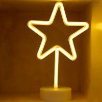 LED 네온전구 조명등 (별)