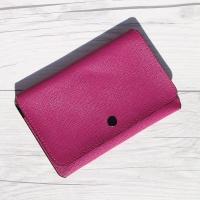 전자파차단 원단의 파우치 Type..웍스 여권지갑-딥 핑크 No.8860 HA223-3