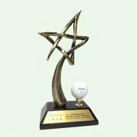 [무료배송] 골프 트로피 스타 HB-1312 싱글패 골프패