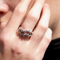 coiled ring