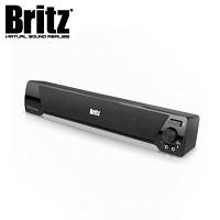 [브리츠] 스피커 BA-R9 Sound Bar (사운드 바 / 보조받침 고무패드 제공 / 정격출력 6W / 마이크 & 헤드폰 단자 / USB전원)