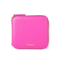 Fennec Zipper Wallet-008 Pink