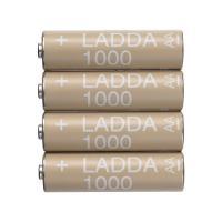 이케아 LADDA 충전지 AA 1000 (4개입)