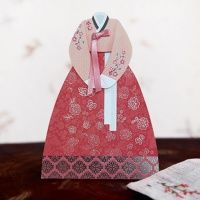 꽃 자수 한복 용돈봉투 FB302-3