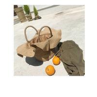 튤립 여름 왕골가방 밀짚가방 라탄 숄더백