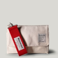 S mini pocket cross bag _ Ivory