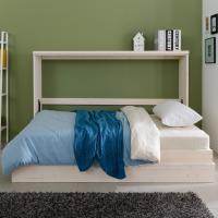히든스페이스 위드 접이식 슈퍼싱글 침대 df059