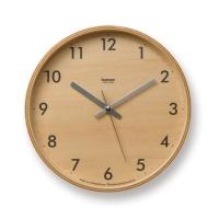 LEMNOS [LC04-05S] PLYWOOD CLOCK