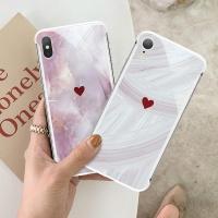 아이폰11/프로/맥스/X/XS 대리석 하드 핸드폰 케이스