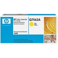 HP TONER Q7562A / Yellow / Color Laserjet 2700/3000 / 3,500P