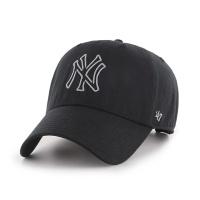 MLB모자 뉴욕 양키즈 올블랙 블랭크그레이빅로고