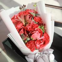 블루밍 비누꽃 꽃다발 박스