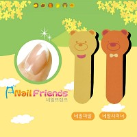 네일파일 and 샤이너 (Bear and Cat Friends-bear2)