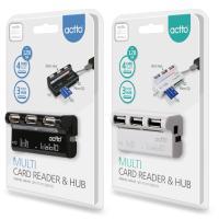 ACTTO/엑토 멀티 카드리더 겸용 허브 CRH-05