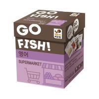 고피쉬 슈퍼마켓 보드게임 (5세 이상, 2-5인, 영어)