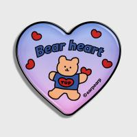 Gradation bear heart-blue/purple(hearttoktok)