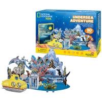 [3D퍼즐마을][DS0974h] 내셔널지오그래픽 해저 모험 (Undersea Adventure)