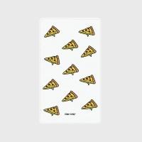 [어프어프] 보조배터리 Cheese pizza-white