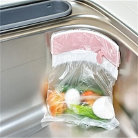 싱크대 음식물쓰레기통 음식물보관통 위생팩홀더