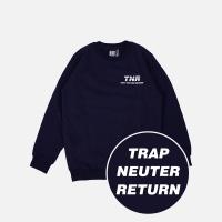 TNR 기모 맨투맨 - 네이비