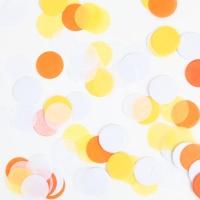 파티 컨페티(꽃가루)-오렌지