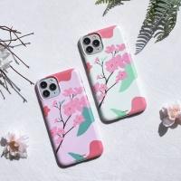 플랜씨 벚꽃 매트슬림핏 하드케이스