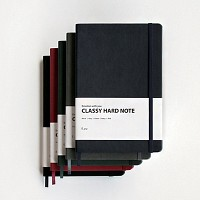 [E.yu] CLASSY Hard Note (하드커버 노트)