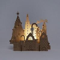 [퍼니피쉬] 크래프트라이츠 - 시티산타 - LED/Candle