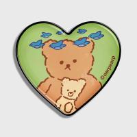 blue bird bear-green(hearttoktok)