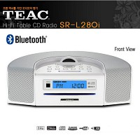 극동정품 TEAC SR-L280i MP3 CD 포터블 블루투스