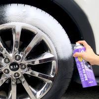거품타입 타이어 세차 광택제
