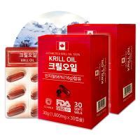 캐나다직수입 웰유팜 100% 크릴오일캡슐 1000mg 60정