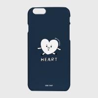 [어프어프] 하드/터프/슬라이드 Heart character-navy
