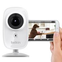 벨킨 HD Wi-Fi 카메라 CCTV 넷캠 야간 투시 지원{F7D7602kr}