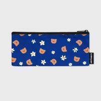 Dot flower bear-blue(필통)