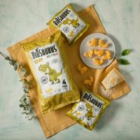 바이오사우르스 유기농 옥수수스낵 치즈맛 멀티팩