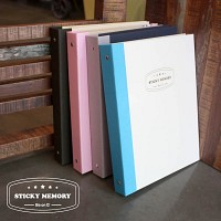 sticky memory_스티키메모리 스크랩앨범