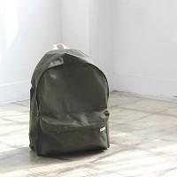 Khaki Basic Backpack