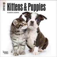 2018 미니캘린더 키튼앤퍼피 Kittens & Puppies