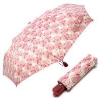 보그 3단 자동 우양산 - 핑크하트