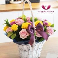 [엔젤스플라워] 러블리핑크_일반형 전국꽃배달서비스 AGFYHF01BS