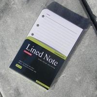 [innoworks] 마이링 전용-이노웍스 플래너 펑션-리필용 속지 라인노트 대용량 100매/팩 A171