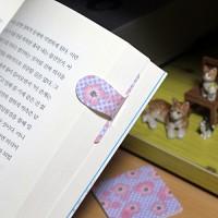 [플라스틱 and 자석 자동책갈피] 자동책갈피 수지인 : 벚꽃