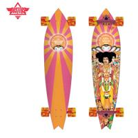 [DUSTERS] 38 HENDRIX AXIS BOLD X ORANGE/PINK X COLLABO LONGBOARD COMPLETE