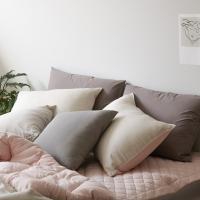 소프트 선염면100% 침구세트 - 핑크(퀸기본세트)