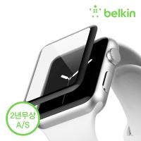 벨킨 애플워치 시리즈3/2 강화유리필름 38mm F8W917qe