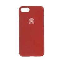 LOGO SIMPLE PHONE CASE red 후원 폰케이스 비코