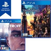 PS4 킹덤하츠 3 + 디트로이트 비컴 휴먼 (더블팩)