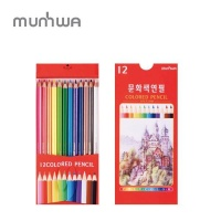 문화 색연필 지함 12색